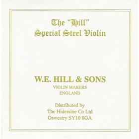Hill Violin String E. Loop End. Weak