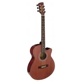 Brunswick Folk Guitar Mahogany Slimline